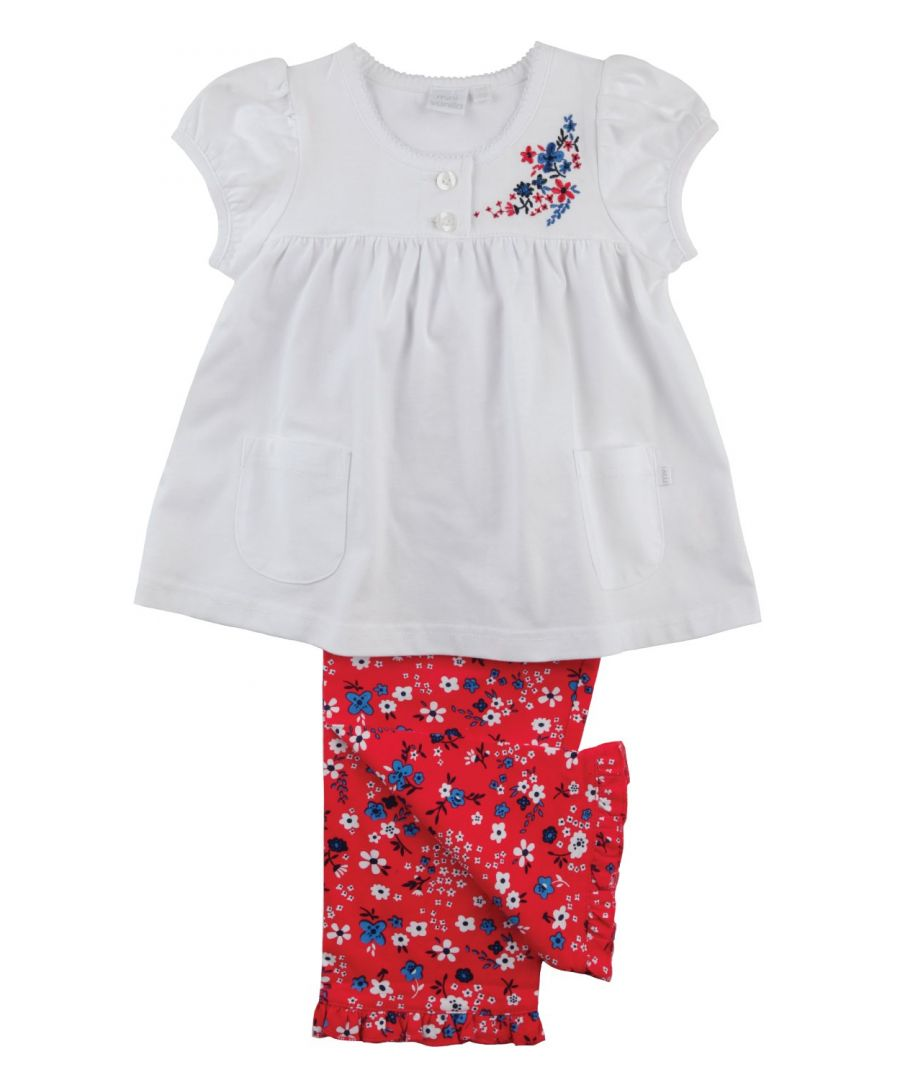 Image for Pretty flowered Pyjamas for girls