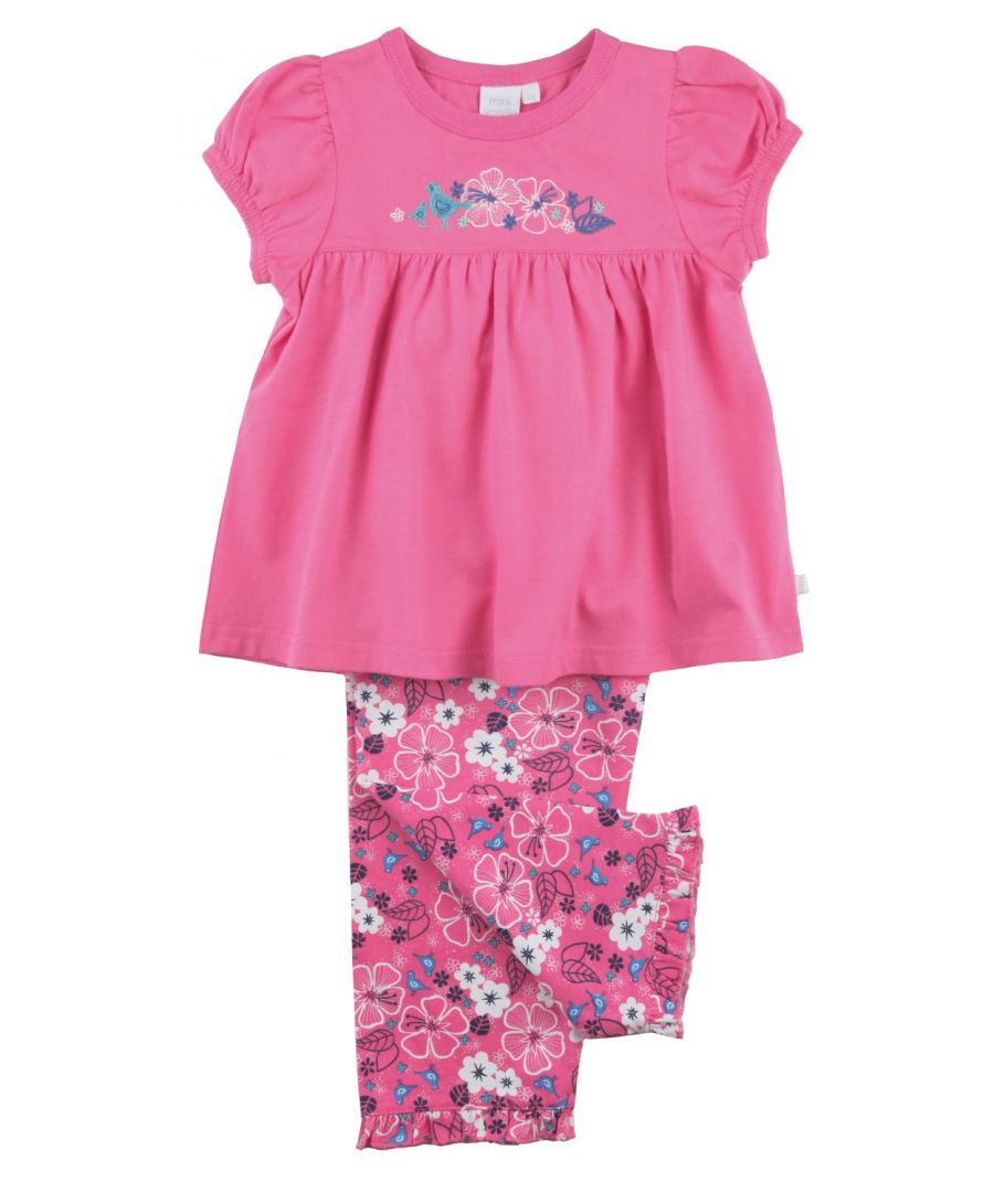 Image for Girlie Pyjamas in pink, flowers and more pink