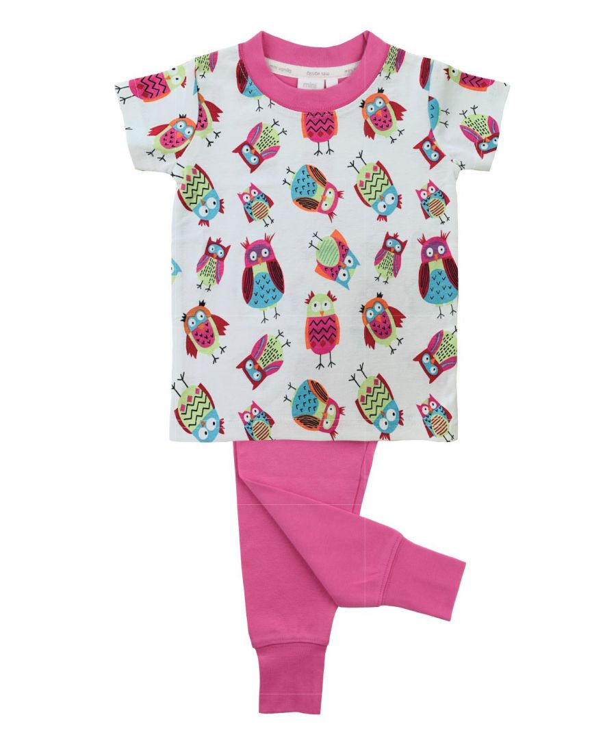 Image for Owl print slim fit Pyjamas for Girls