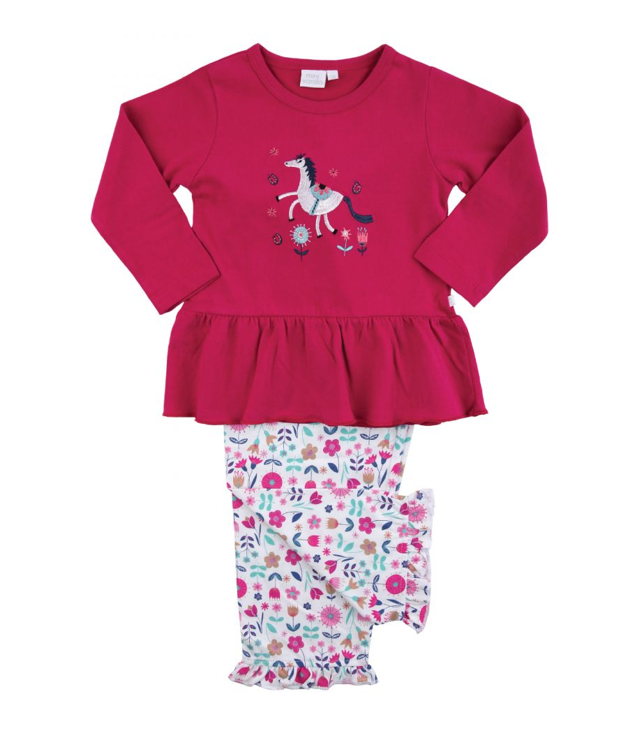 Image for Girls Unicorn Cotton Pyjamas