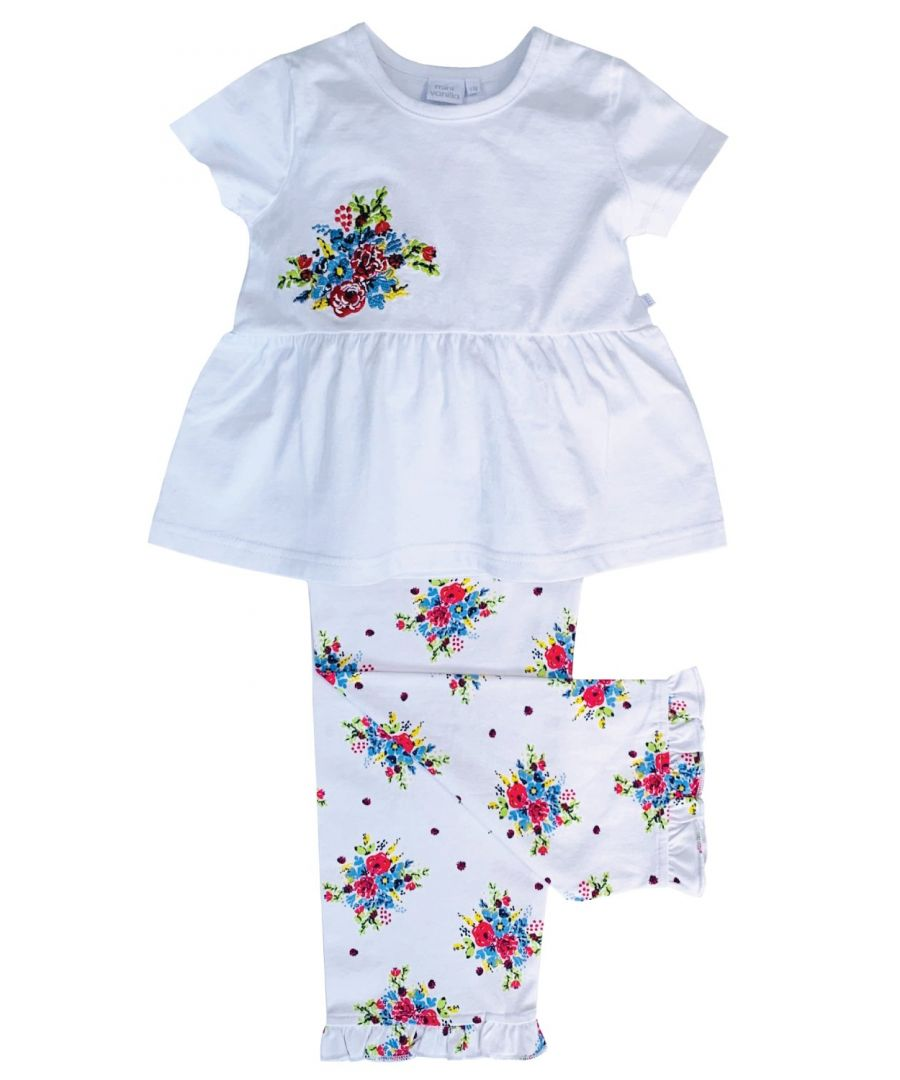 Image for Summer Bouquet print pyjamas for Girls