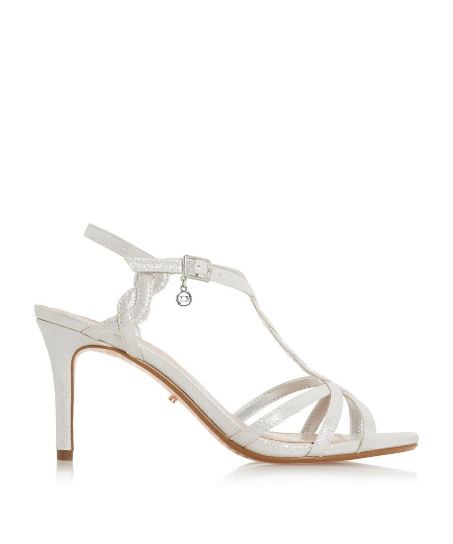 Image for Dune Ladies MYSTICK Strappy Mid Heel Sandals