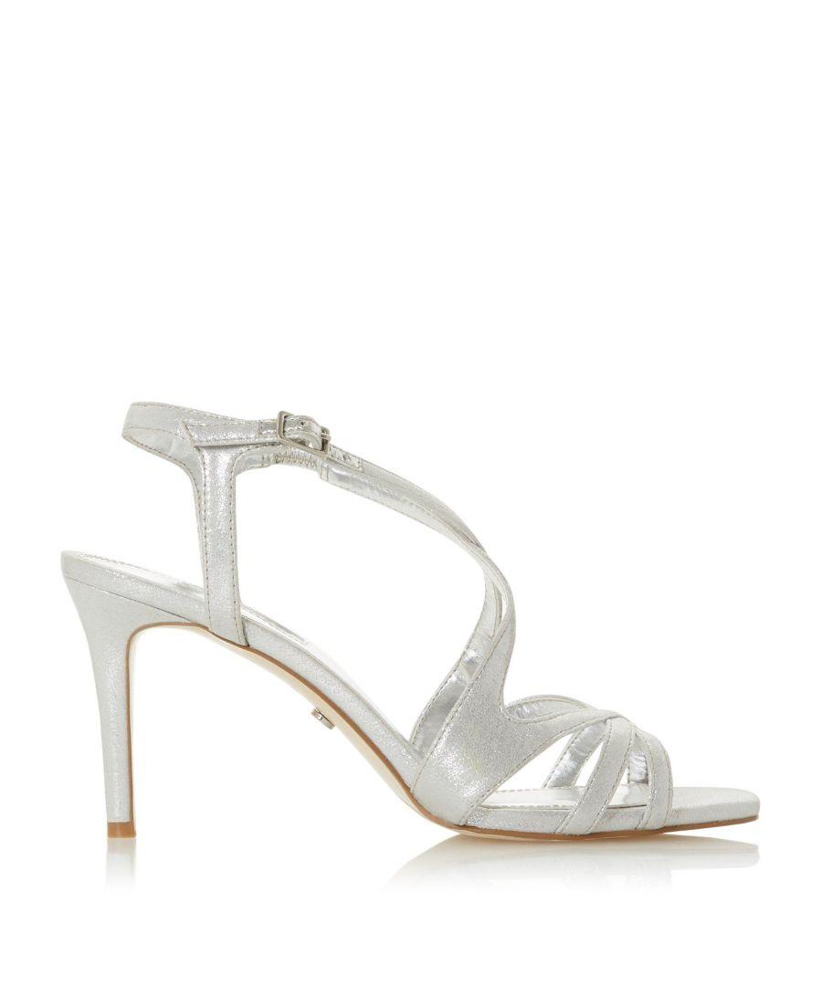 Image for Dune Ladies MYSTICKS Mid Heel Strap Sandals