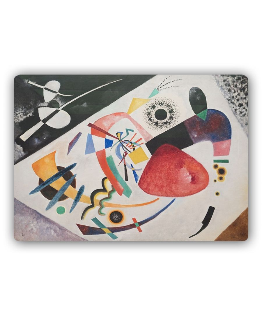 Image for Metal Print - Red Spot Ii - Wassily Kandinsky