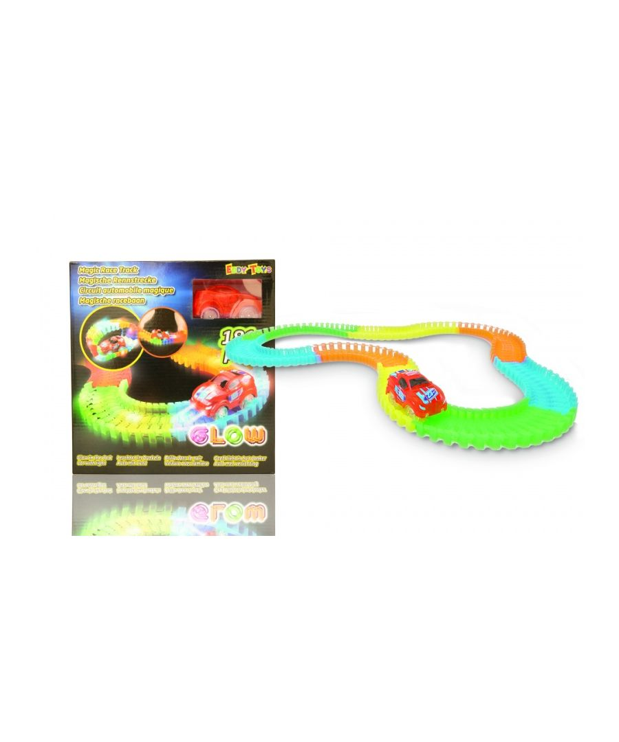 Image for Glow In The Dark Magic Race Track 181pcs