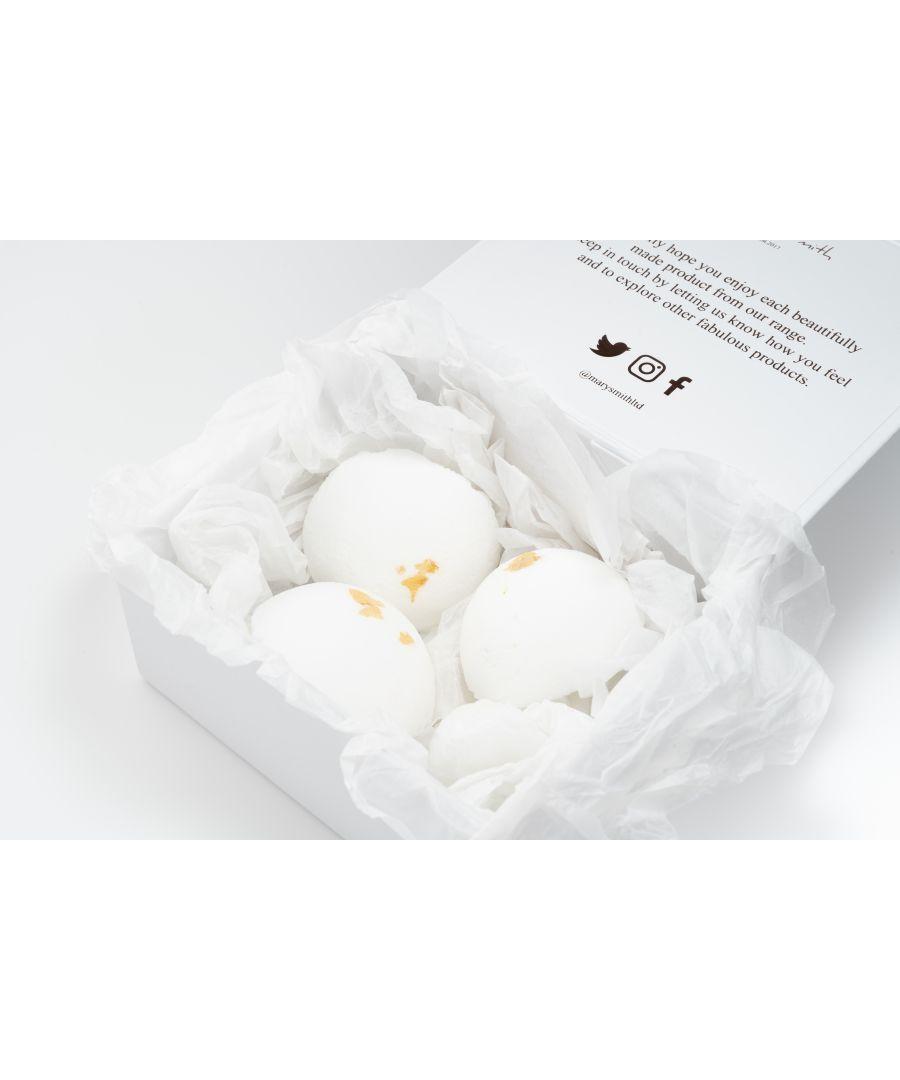 Image for Naturally Scented Bath Bomb Set - Lemongrass & Bergamot