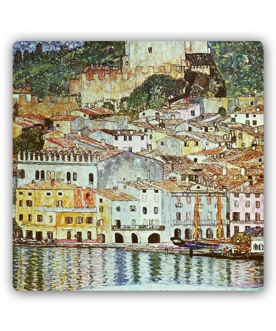 Image for Metal Print - Malcesine On Lake Garda - Gustav Klimt