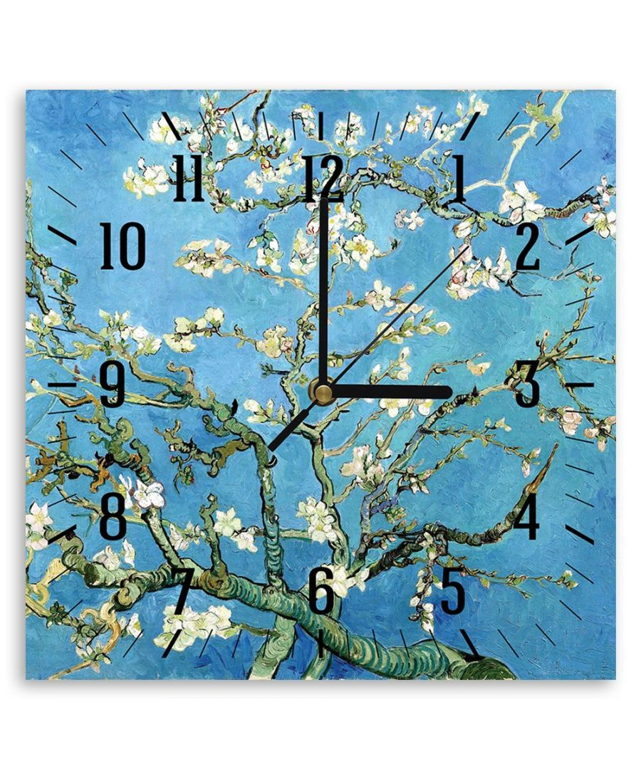 Image for Wall Clock - Almond Blossom - Vincent Van Gogh Cm. 30x30