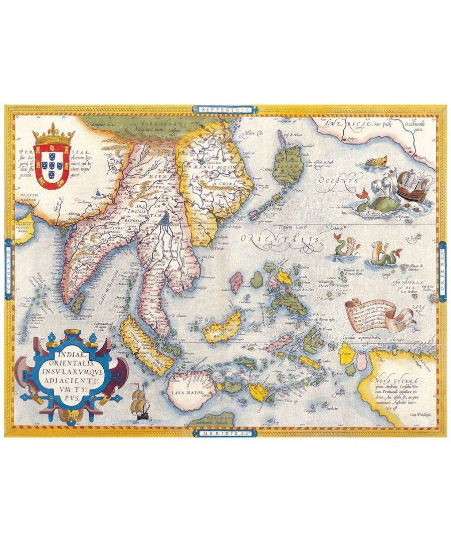 Image for Canvas Print - Old Atlas Map No. 10