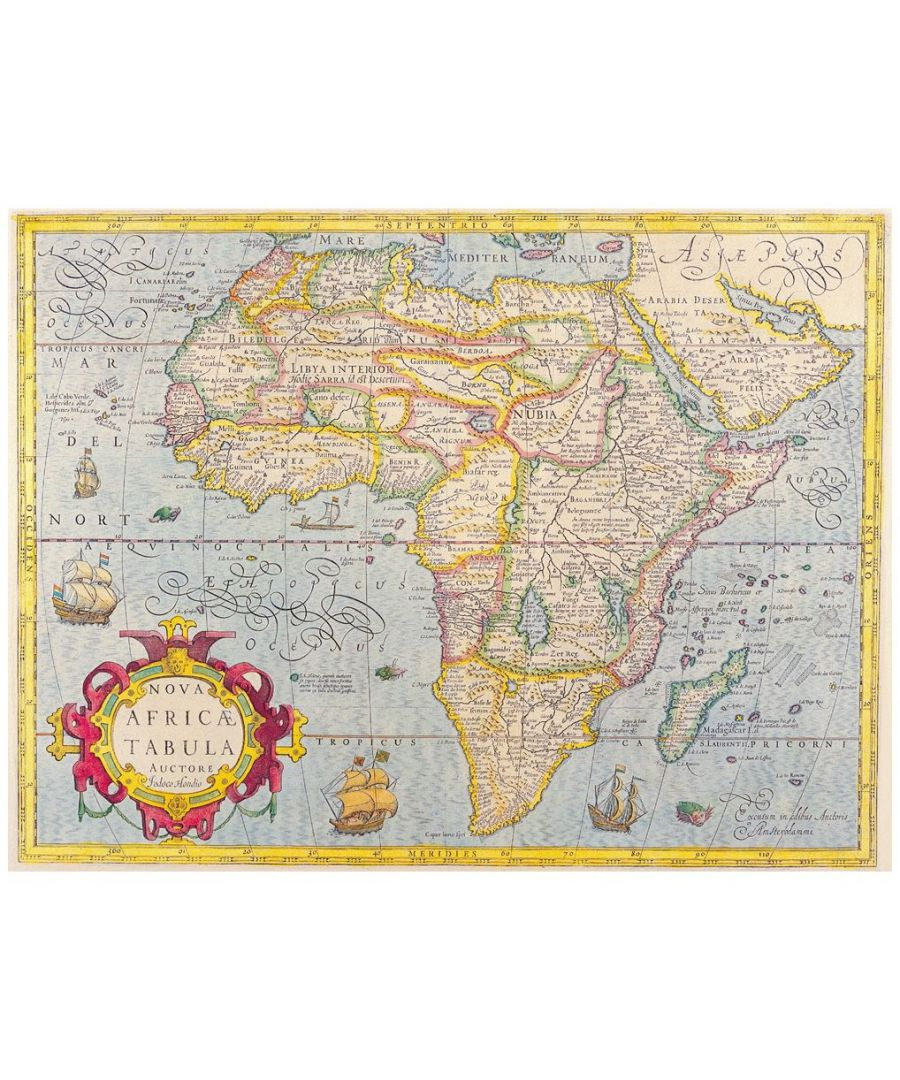 Image for Canvas Print - Old Atlas Map No. 27