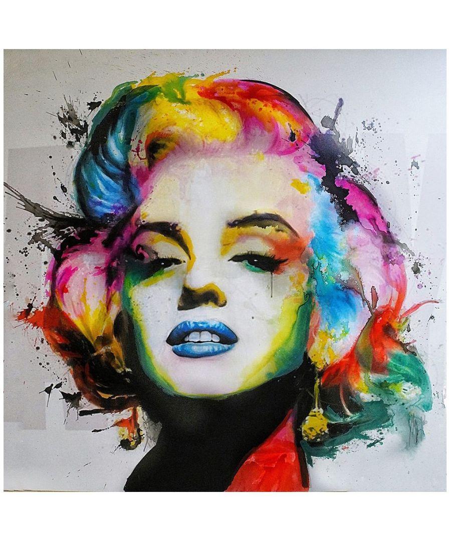 Image for Canvas Print - Marylin cm. 90x90