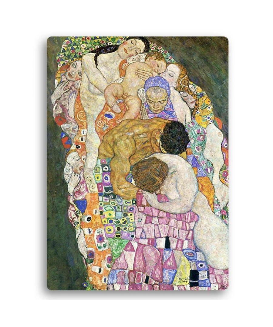 Image for Metal Print - Death And Life (Detail) - Gustav Klimt