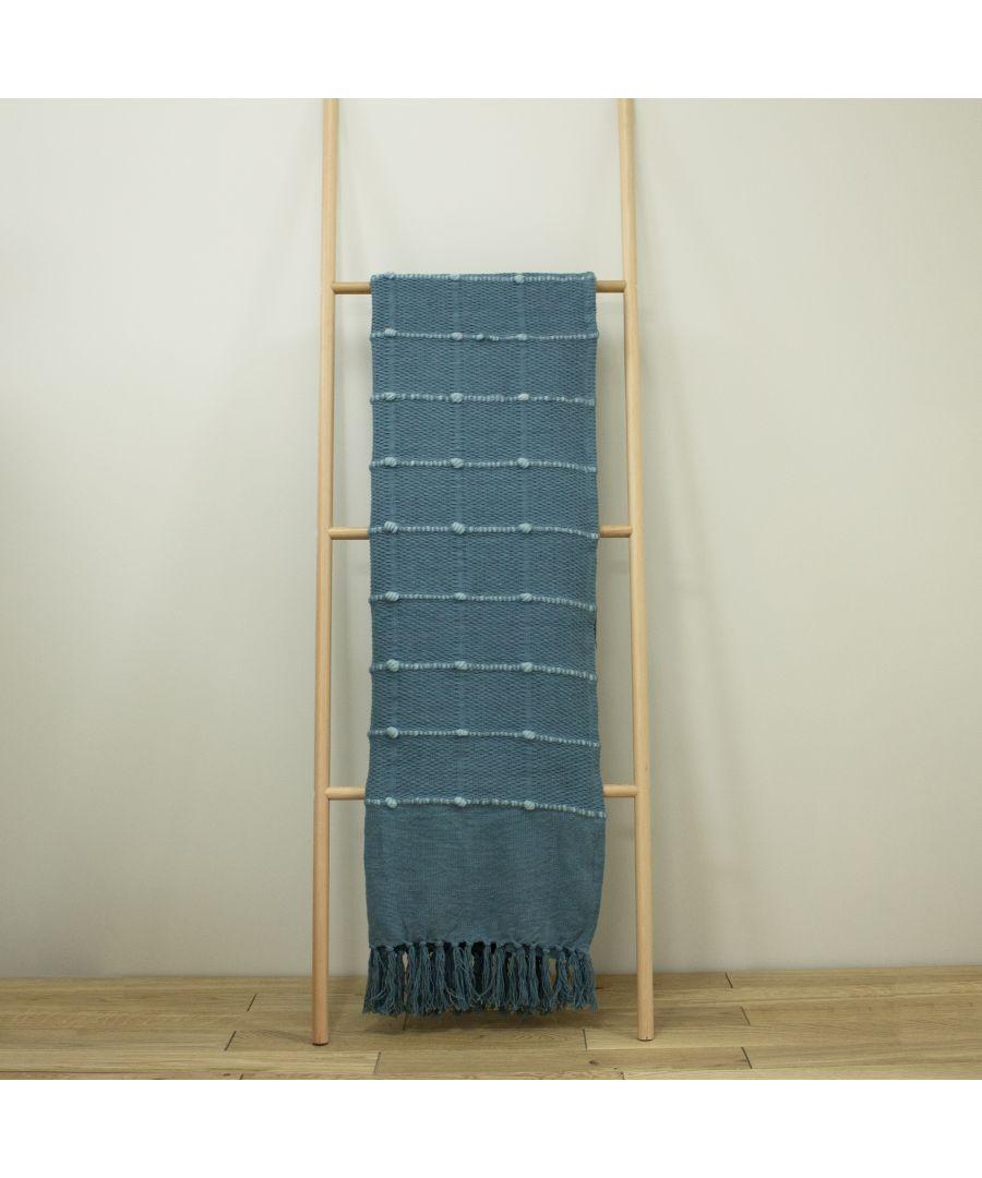 Image for Motti Throw Slate Blue