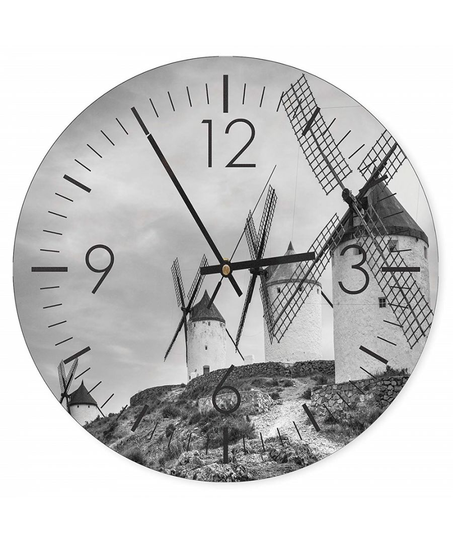 Image for Wall Clock - Windmills Cm. 40x40
