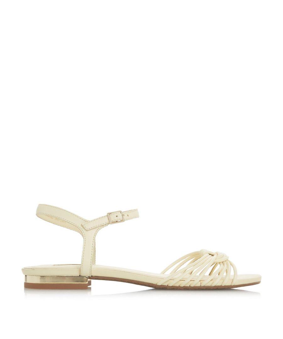 Image for Dune Ladies NAPA Knot Detail Flat Sandal