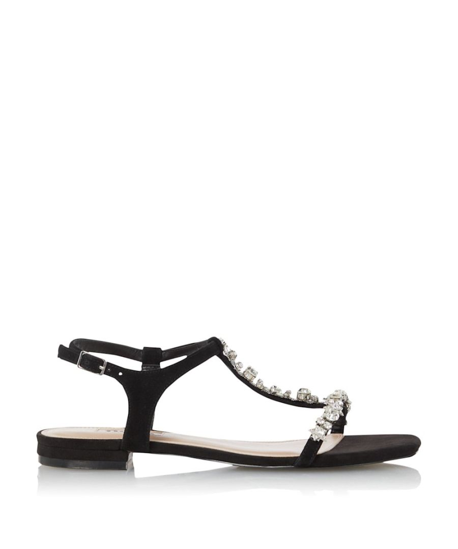 Image for Dune Ladies NASA Embellished Flat Sandals