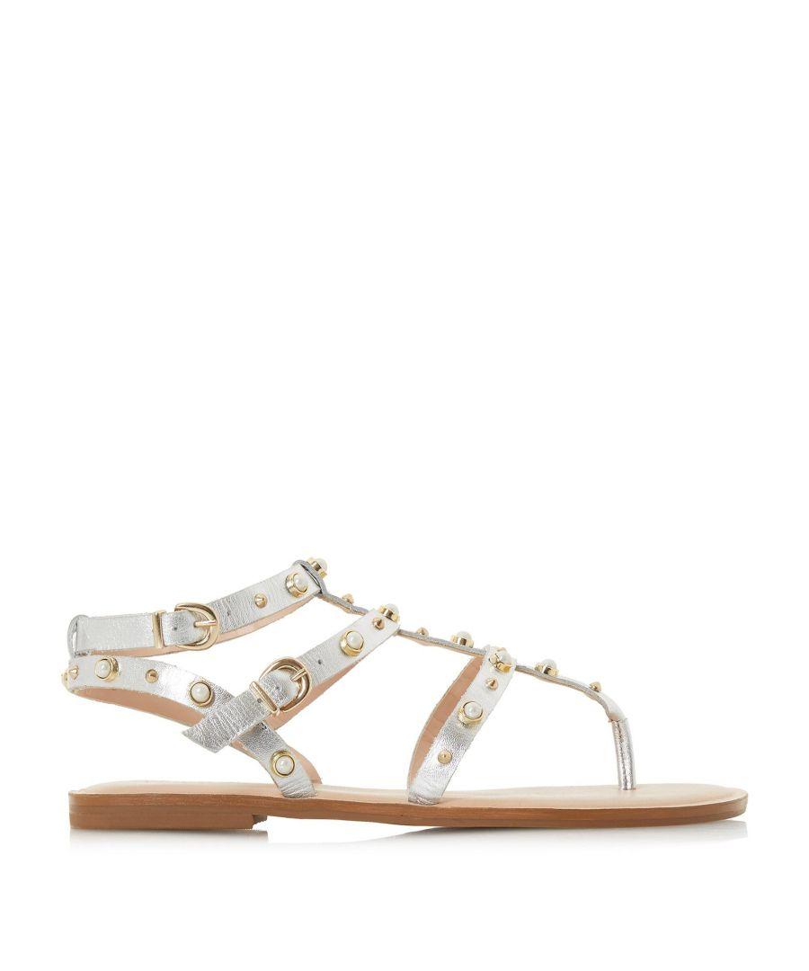Image for Dune Ladies NATASCHA Studded Toe-Post Gladiator Sandals