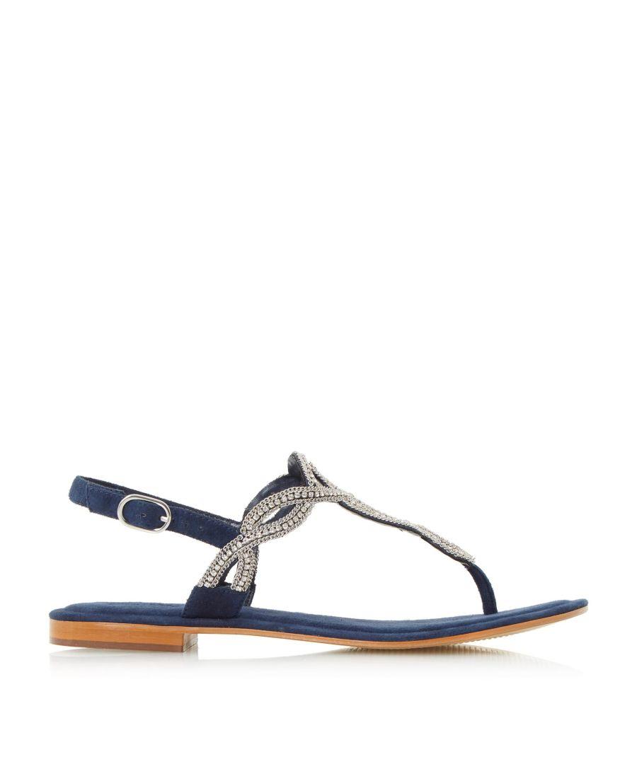 Image for Dune Ladies NEA Embellished Toe Post Sandal