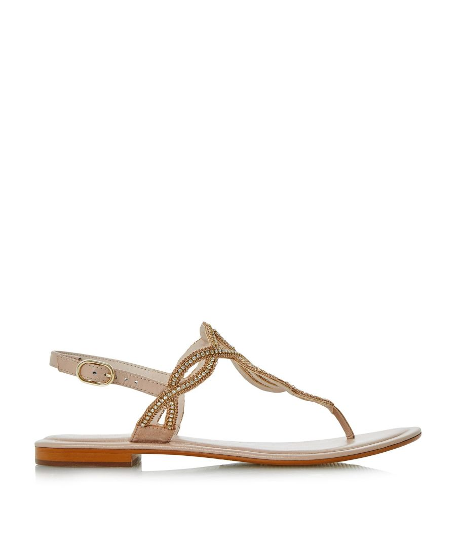 Image for Dune Ladies NEA Embellished Toe Post Sandal