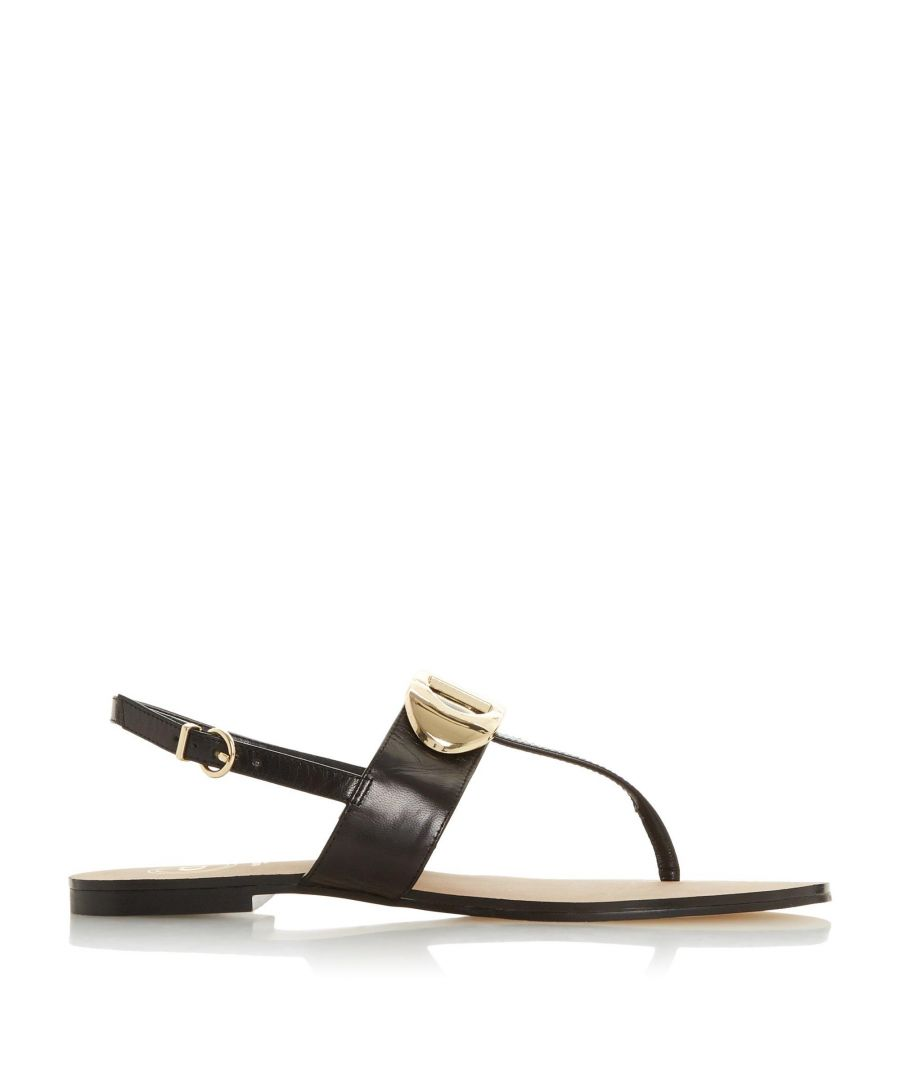 Image for Dune Ladies NEONA 'D' Detail Slingback Sandals