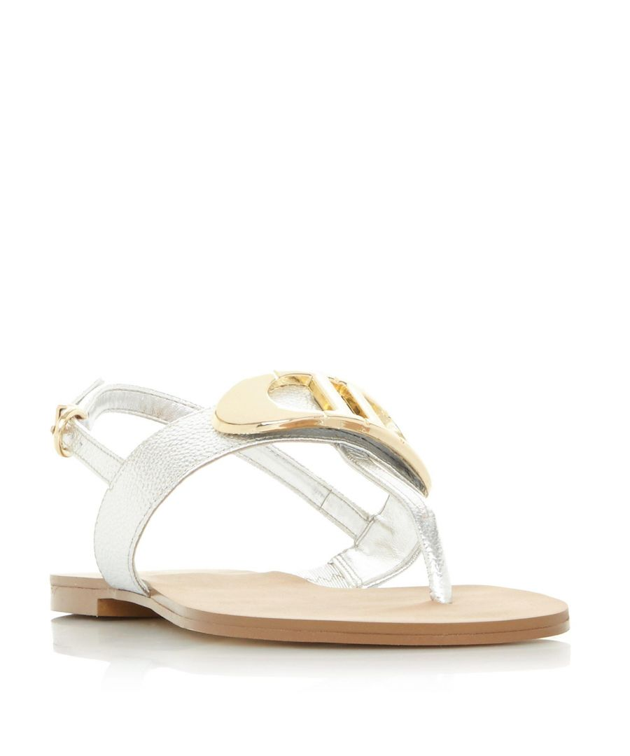 Image for Dune Ladies NEONA 'D' Detail Slingback Sandal