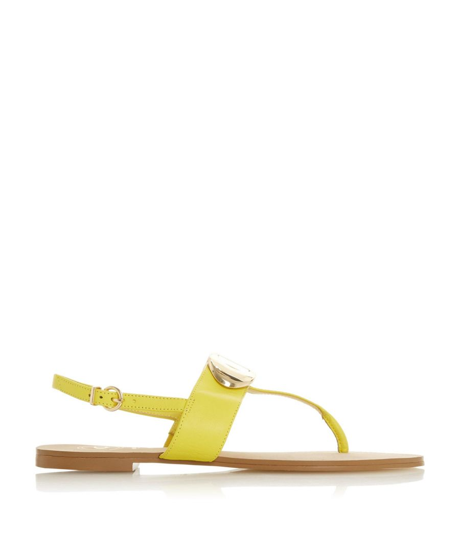 Image for Dune Ladies NEONA 'D' Detail Slingback Sandals