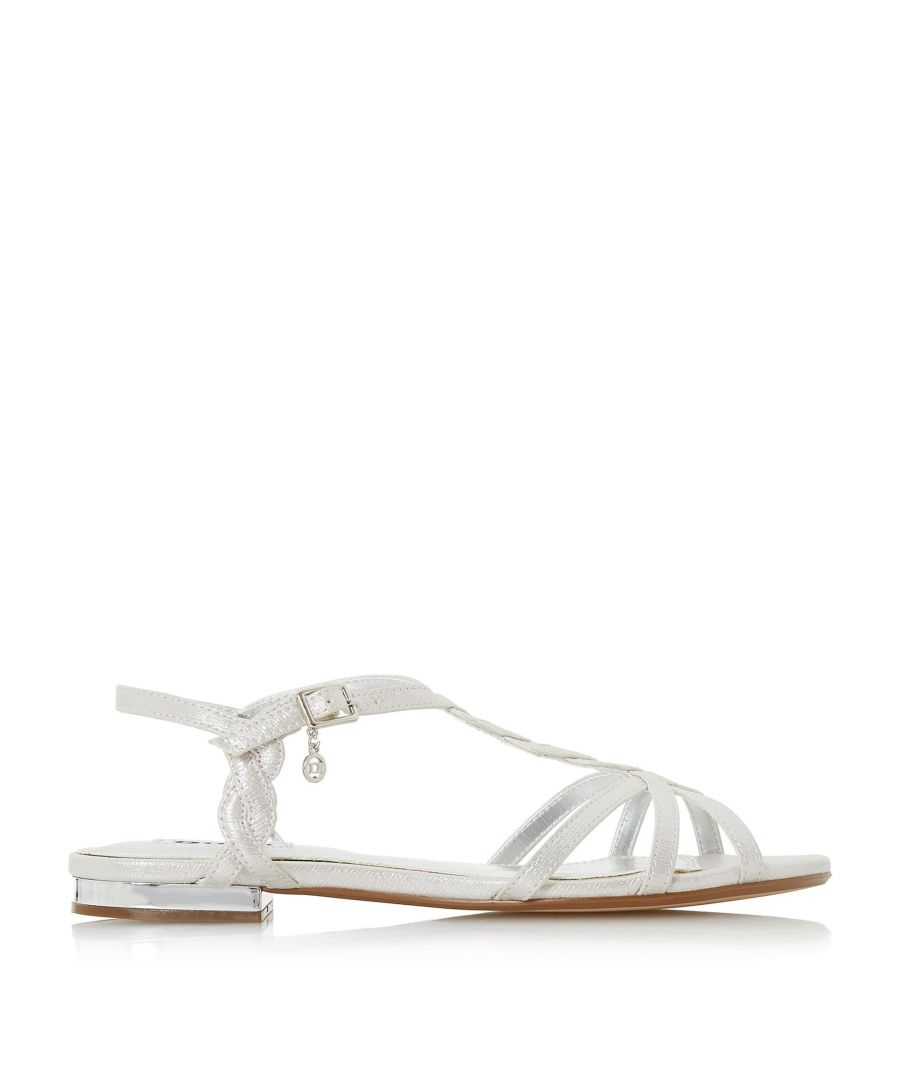 Image for Dune Ladies NEWARK Flat Strappy Sandals