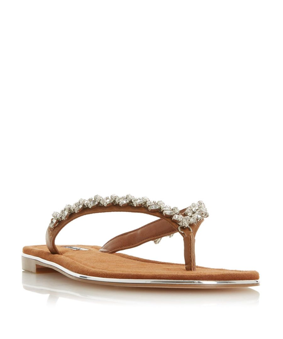 Image for Dune Ladies NEWBEY Diamante Toe-Post Sandal