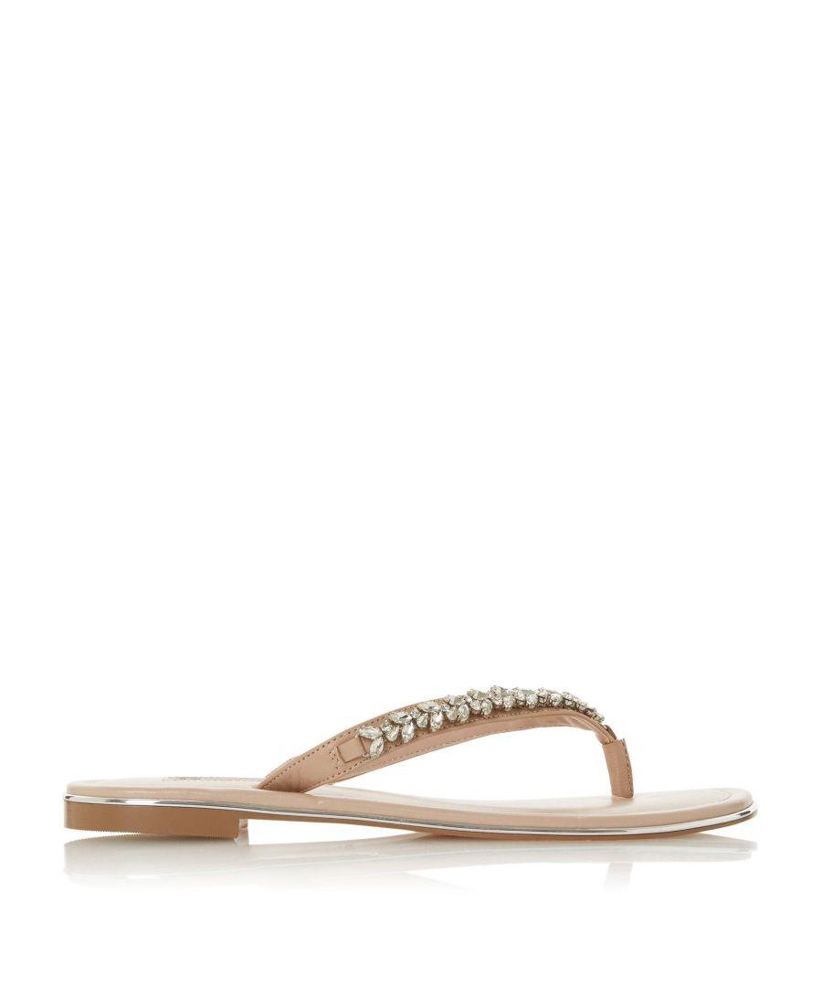 Image for Dune Ladies NEWBEY Diamante Toe-Post Sandals