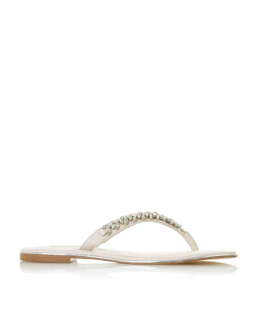 Image for Dune Ladies NEWBEYS  Embellished Flat Sandals