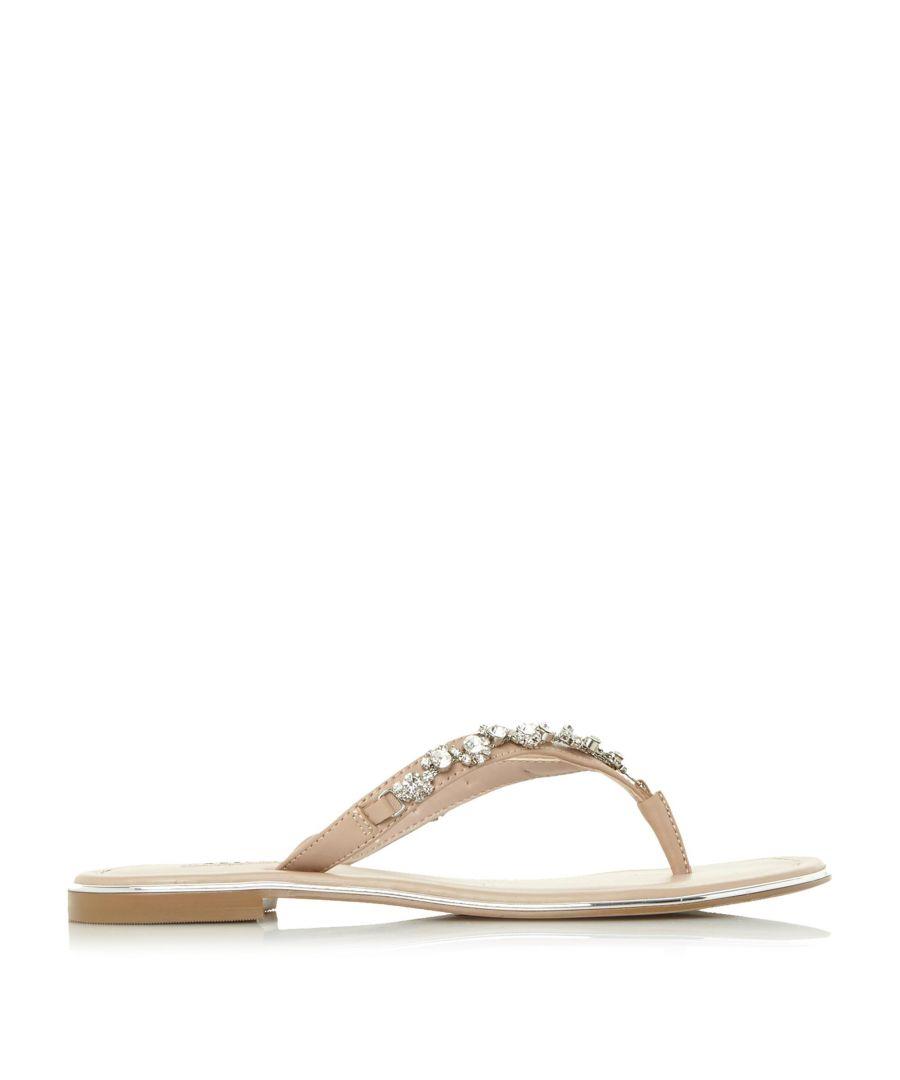 Image for Dune Ladies NEWBIE Diamante Toe-Post Sandals