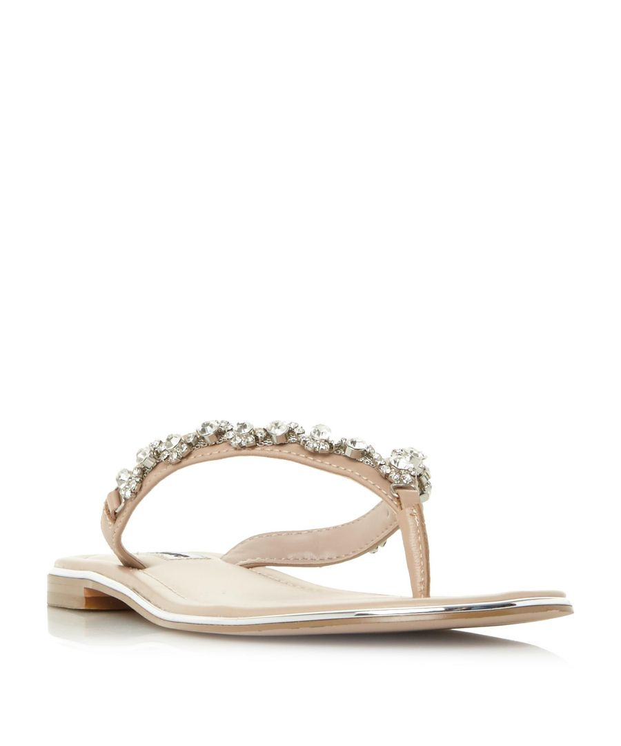 Image for Dune Ladies NEWBIE Diamante Toe-Post Sandal