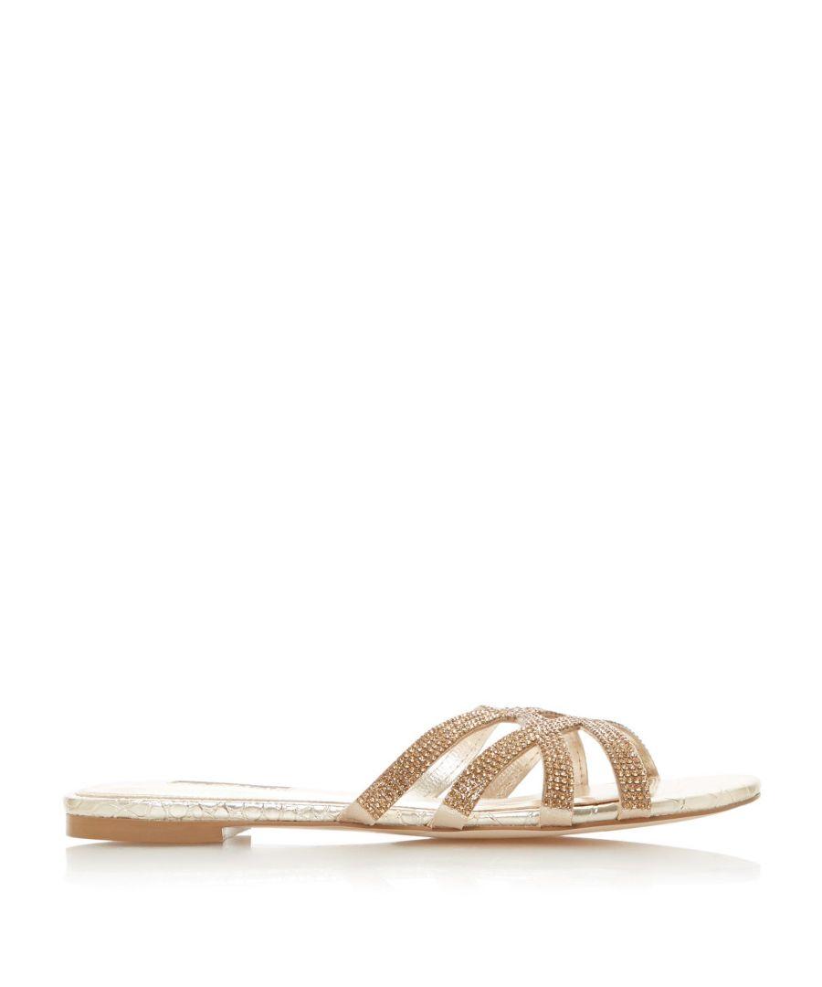 Image for Dune Ladies NEWELLA DI Diamante Slider Sandals