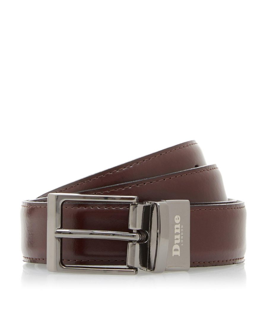 Image for Dune Mens NEXT Stitch Detail Reversible Belt