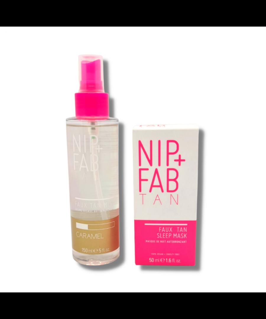 Image for NIP+FAB Faux Tan Mist & Sleep Mask 50ml