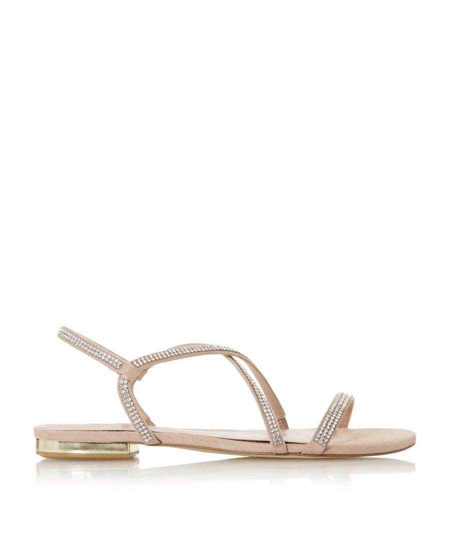 Image for Dune Ladies NICCI Embellished Barely There Strap Sandals