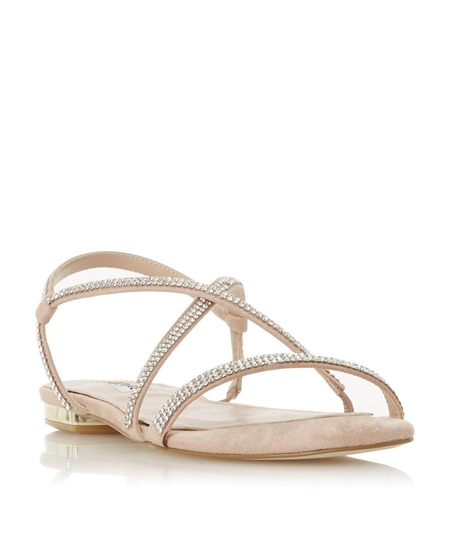 Image for Dune Ladies NICCI Embellished Barely There Strap Sandal