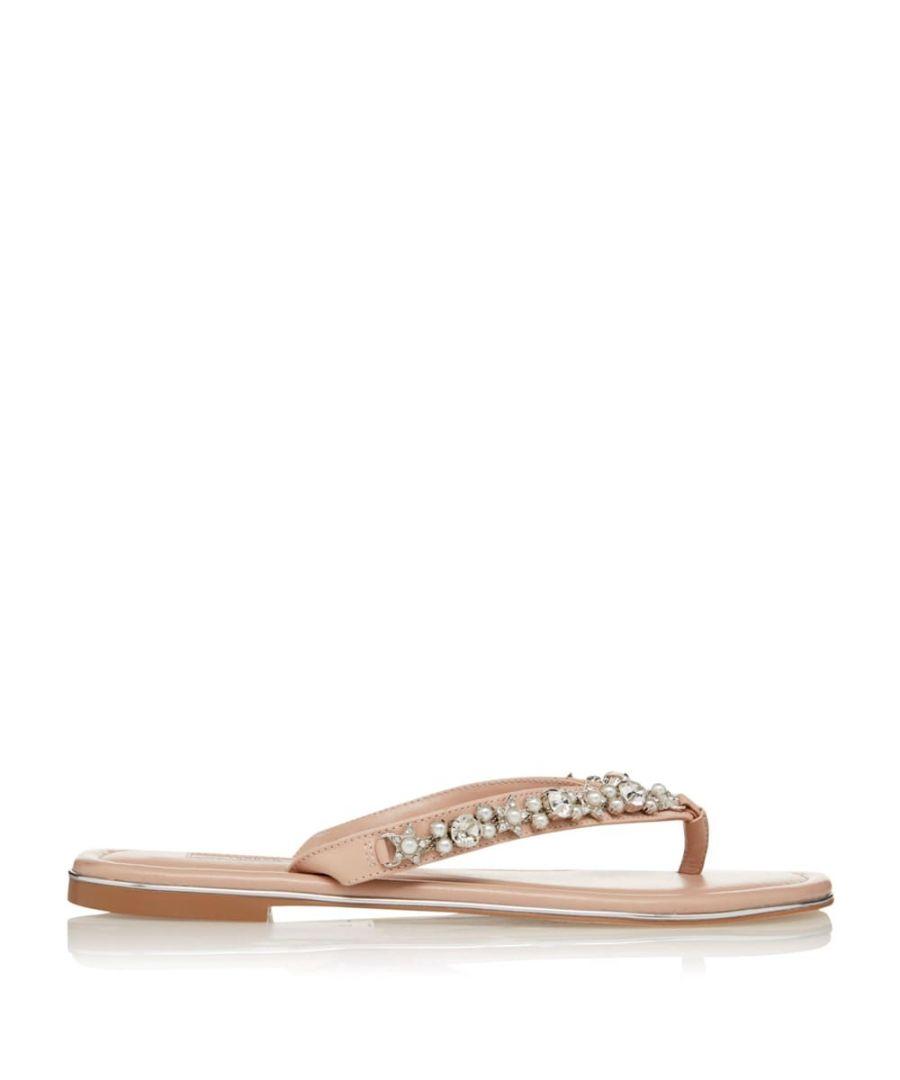 Image for Dune Ladies NOELE Embellished Flat Sandal