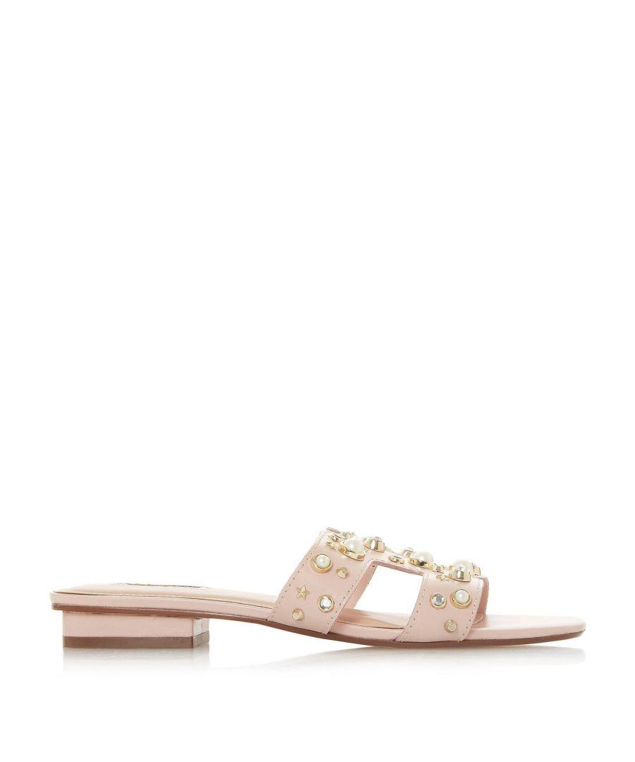 Image for Dune Ladies NOTTING HILL Pearl Embellished Slider Sandals