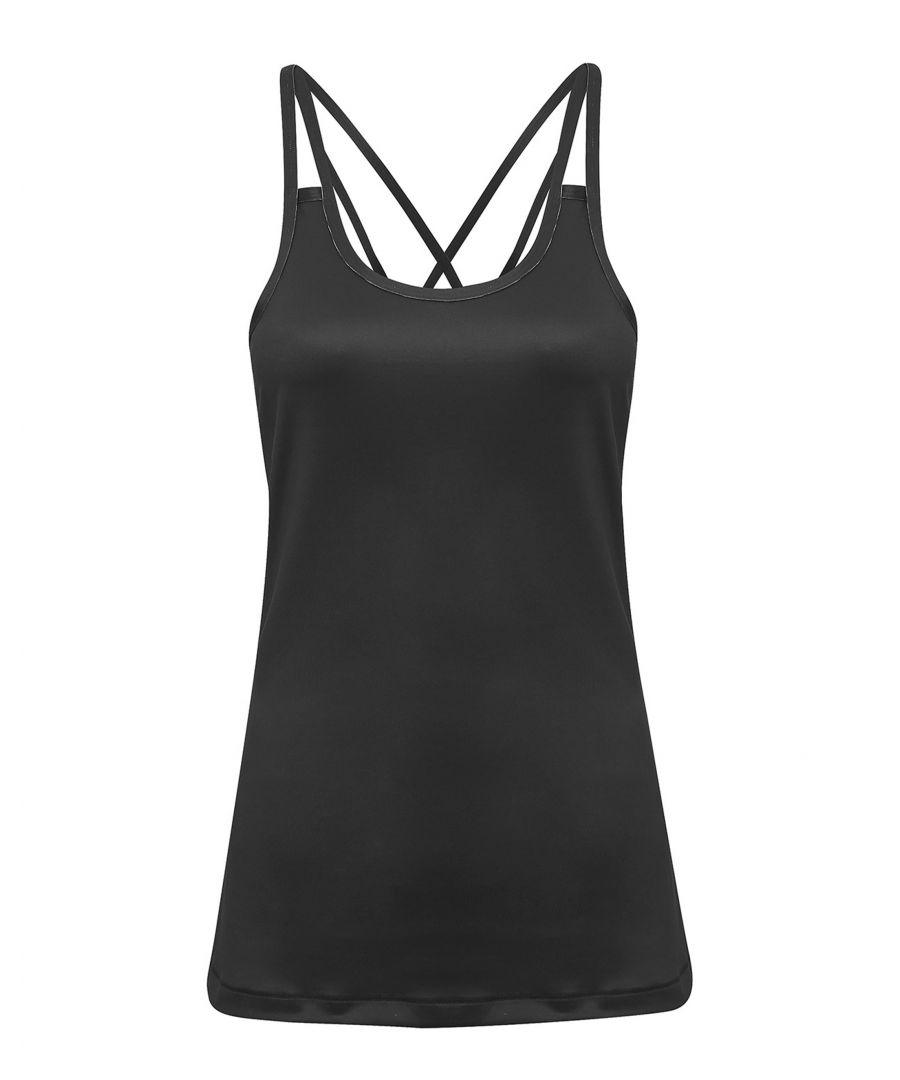 Image for Charcoal Laser Cut Strap Vest