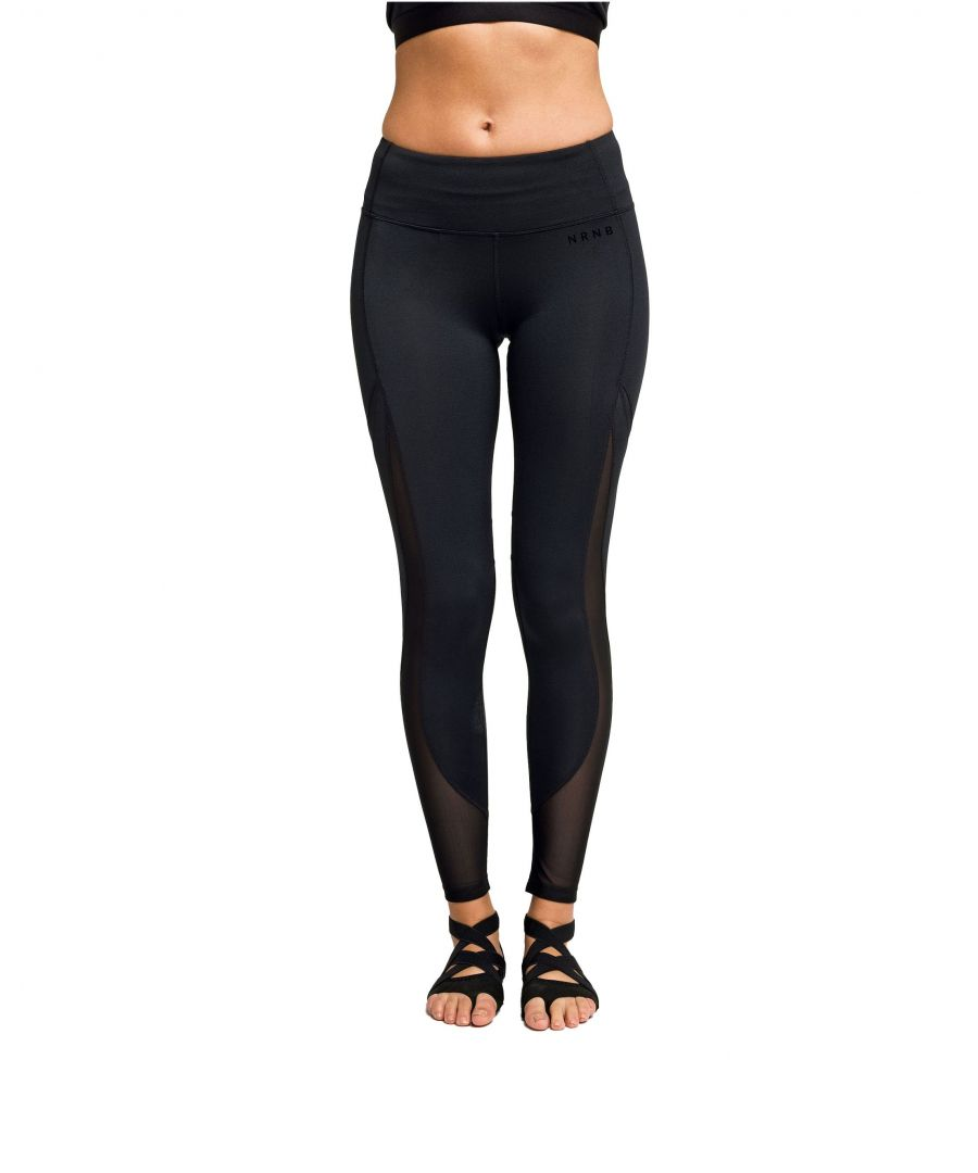 Image for NRNB Mesh Tech Panel Leggings Full-Length