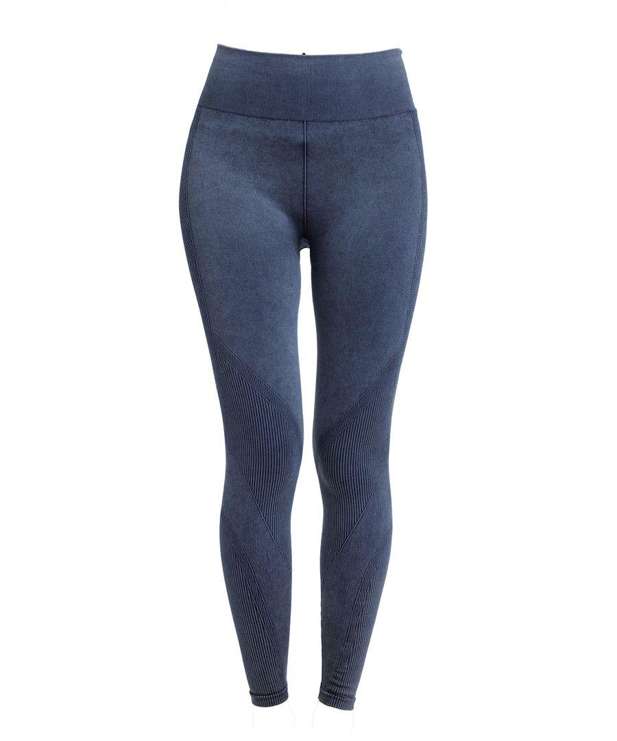 Image for Indigo Blue Denim Look Seamless Legging