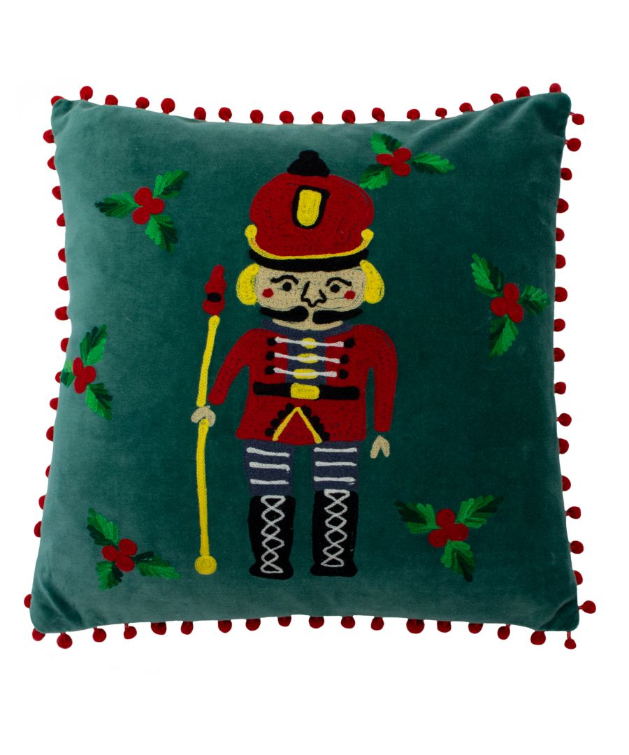 Image for Nutcracker Polyester Filled Cushion