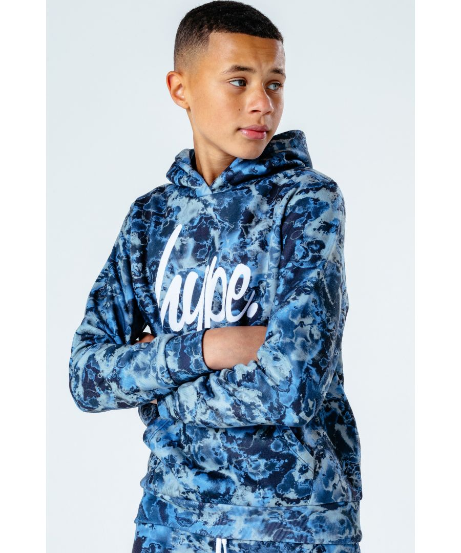 Image for Hype Arctic Tie Dye Kids Pullover Hoodie