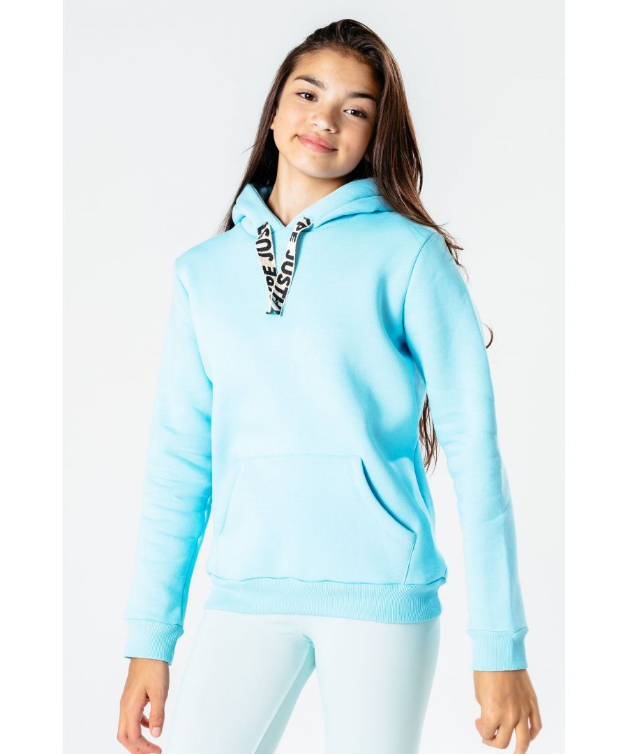 Image for Hype Pale Blue Drawstring Kids Pullover Hoodie