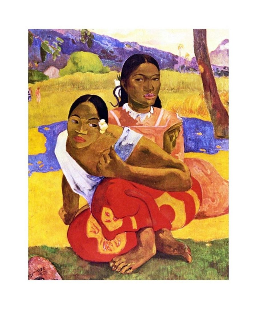 Image for Canvas Print - Nafea Faa Ipoipo (When Will You Marry?) - Paul Gauguin Cm. 80x100