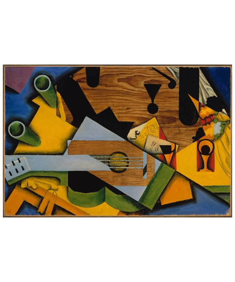 Image for Canvas Print - Still Life With A Guitar - Juan Gris Cm. 60x90