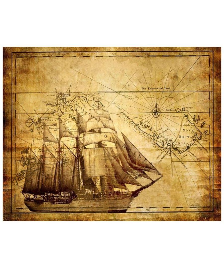 Image for Canvas Print - Navigation On Paper Cm. 80x100