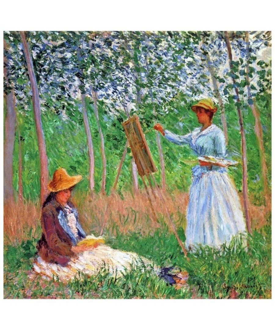 Image for Canvas Print - In The Woods At Giverny - Claude Monet Cm. 90x90