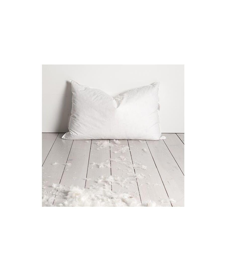 Image for Neuhaus White Goose Feather & Down Pillow